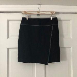 White House Black Market Black Lined Skirt 4